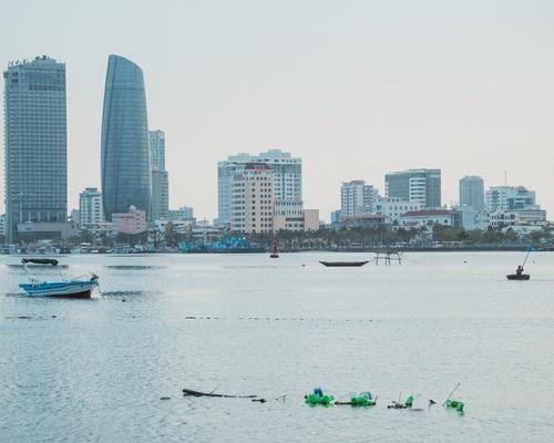 Dọc sông Hàn.