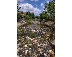 Rác thải nhựa ở tỉnh Bình Dương những ngày đầu tháng 5