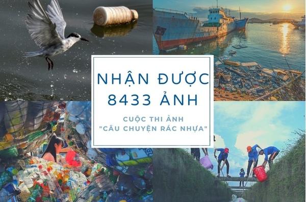 Cuộc thi ảnh Câu chuyện rác nhựa nhận được 8.433 tác phẩm